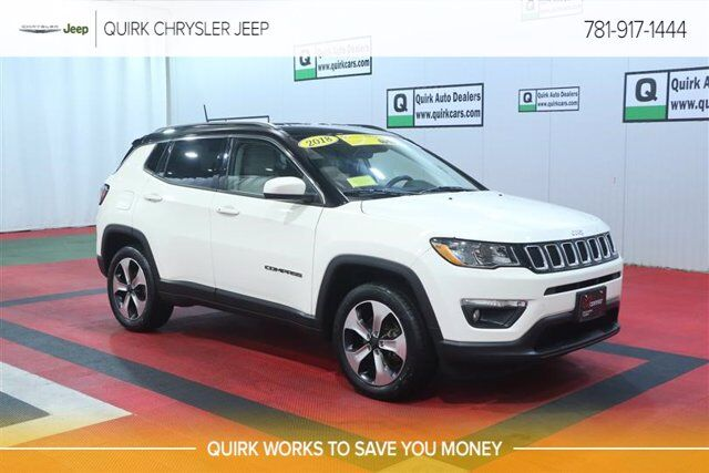 2018 Jeep Compass Latitude Braintree MA