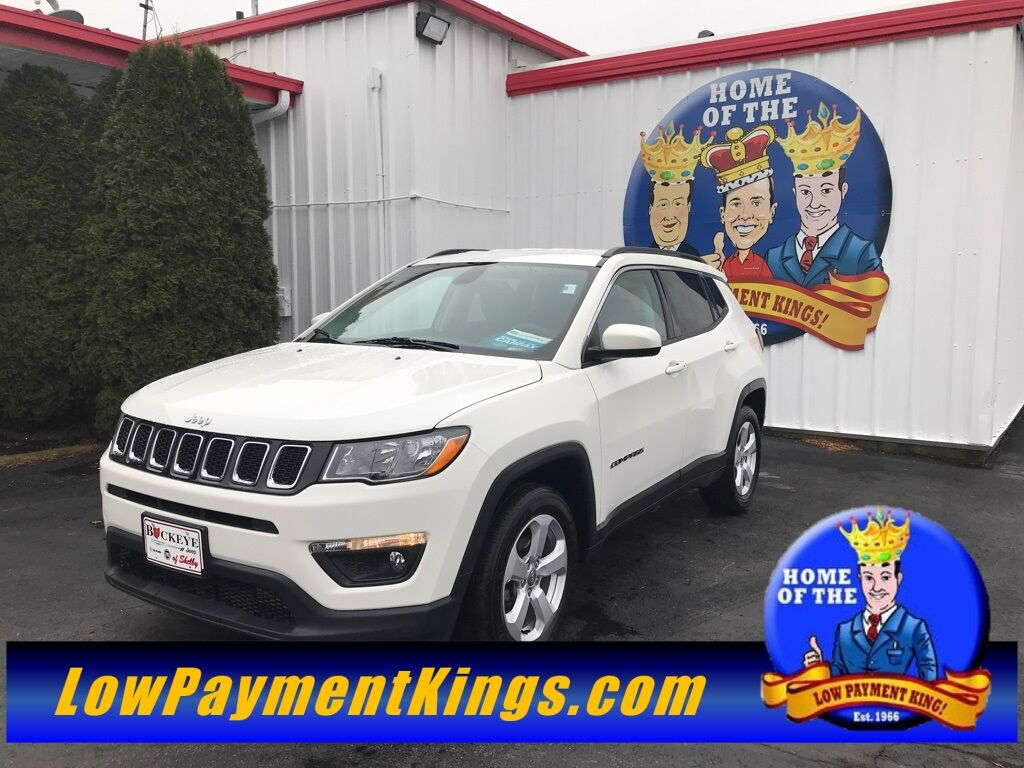 2018 Jeep Compass Latitude Shelby OH