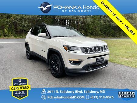 2018_Jeep_Compass_Limited ** Pohanka Certified 10 Year / 100,000 **_ Salisbury MD
