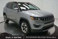 Jeep Compass Limited NAV,CAM,HTD STS,KEY-GO,18IN WHLS 2018
