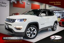 2018 Jeep Compass Limited Nav, Dual Sunroof Advanced Safety Pkg