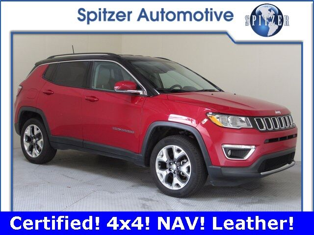 2018 Jeep Compass Limited Ontario OH