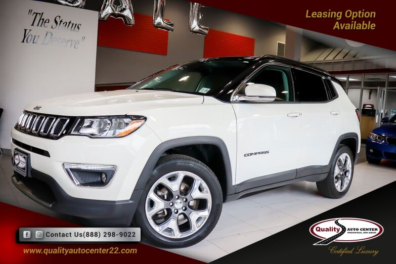 2018 Jeep Compass Limited Panorama Roof Beats Audio System Safe and Security Package Springfield NJ
