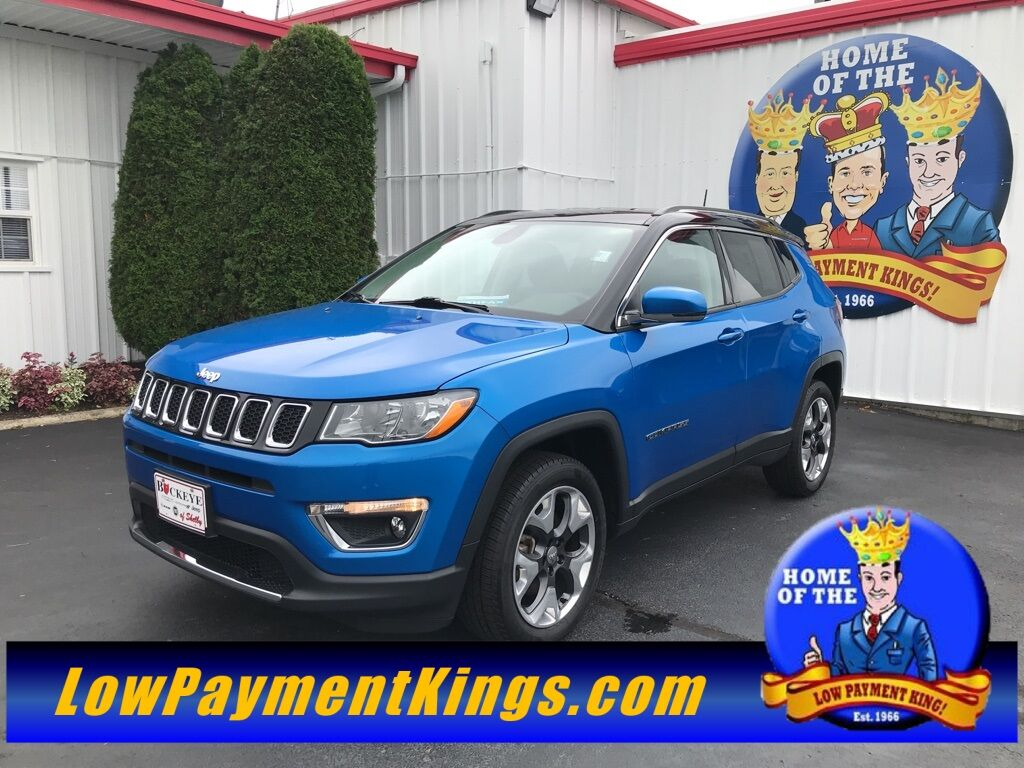 2018 Jeep Compass Limited Shelby OH