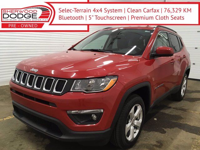 2018 Jeep Compass North AWD | B.TOOTH | CLN CARFAX | LOW KM