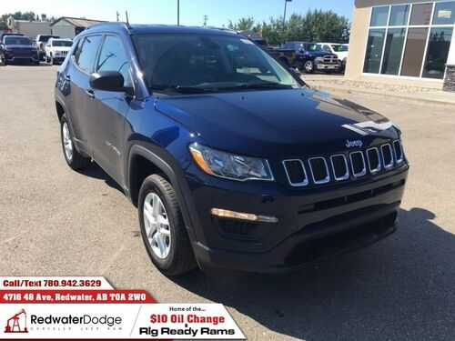 2018_Jeep_Compass_Sport  - Heated Seats - $176.41 B/W_ Redwater AB