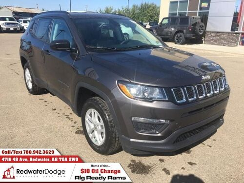 2018_Jeep_Compass_Sport  - Heated Seats - $177.18 B/W_ Redwater AB