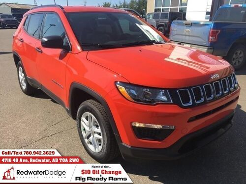 2018_Jeep_Compass_Sport  - Heated Seats - $177.71 B/W_ Redwater AB