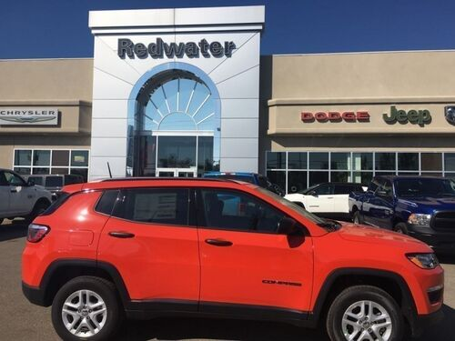 2018_Jeep_Compass_Sport  - Heated Seats - $177.90 B/W_ Redwater AB