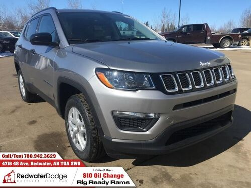 2018_Jeep_Compass_Sport  - Heated Seats - $178.74 B/W_ Redwater AB