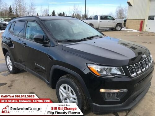 2018_Jeep_Compass_Sport  - Heated Seats - $178.90 B/W_ Redwater AB