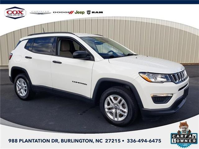 2018 Jeep Compass Sport Front-wheel Drive Burlington NC