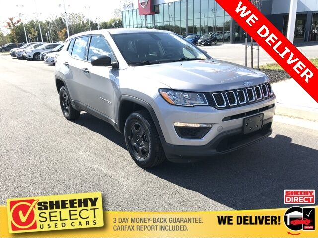 2018 Jeep Compass Sport White Marsh MD