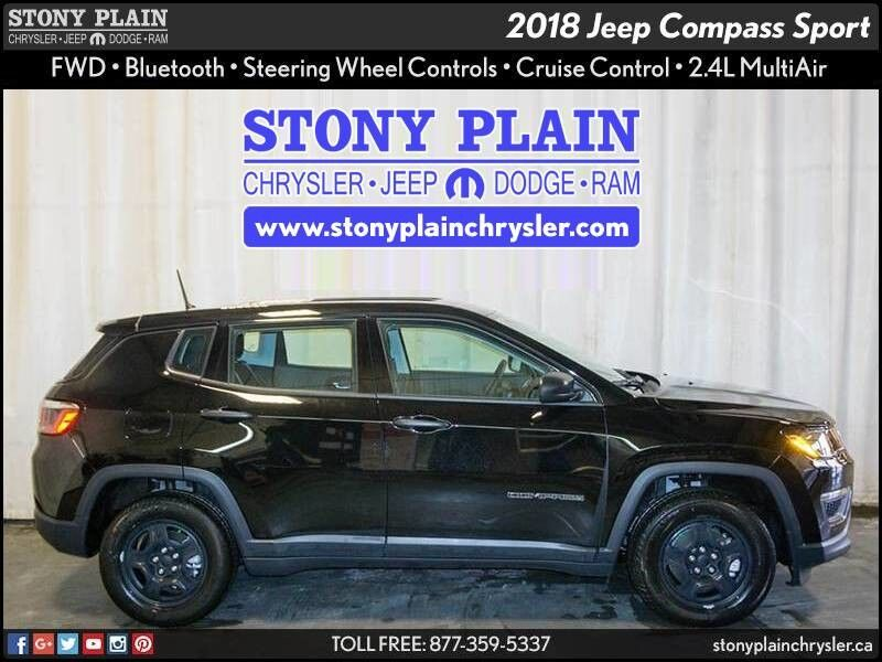 2018 Jeep Compass Sport Stony Plain AB