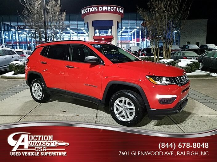 2018 Jeep Compass Sport Raleigh