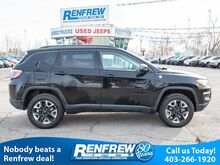 2018_Jeep_Compass_Trailhawk 4x4, Panoramic Sunroof, Remote Start, Navigation, Heat_ Calgary AB