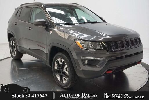 2018_Jeep_Compass_Trailhawk BACK-UP CAMERA,KEY-GO,17IN WHLS_ Plano TX