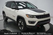 Jeep Compass Trailhawk CAM,KEY-GO,17IN WHLS,BTOOTH 2018
