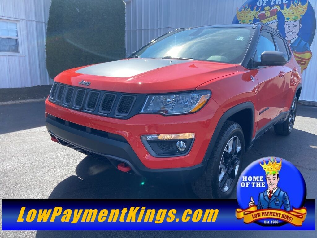 2018 Jeep Compass Trailhawk Shelby OH