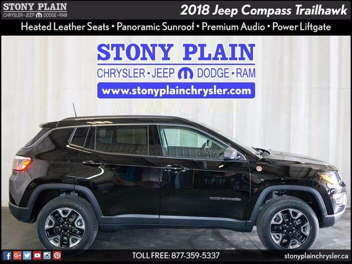 2018 Jeep Compass Trailhawk Stony Plain AB