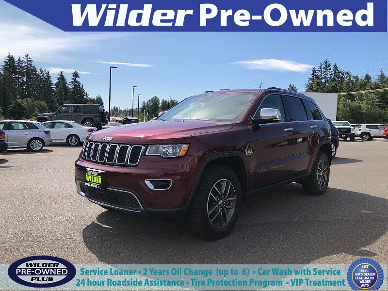2018 Jeep Grand Cherokee 4d SUV 4WD Limited V6 Port Angeles WA