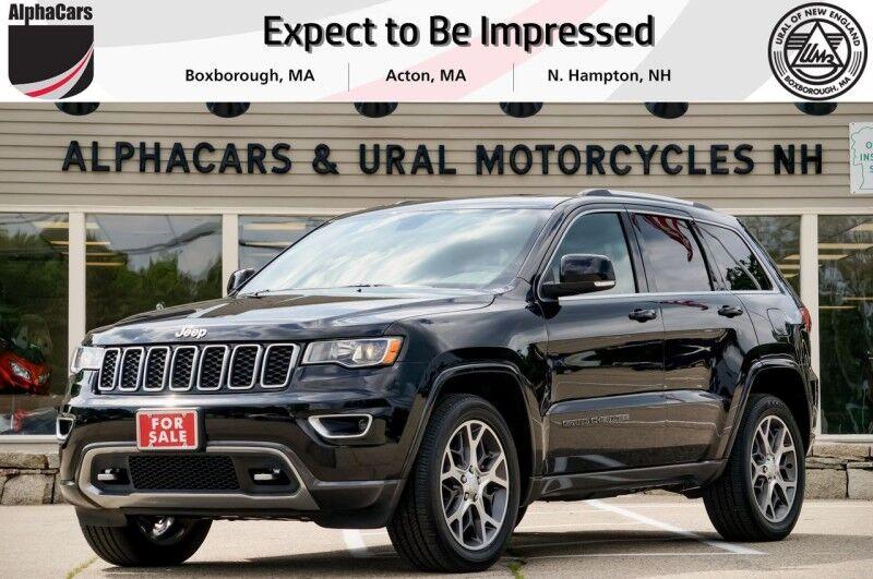 2018 Jeep Grand Cherokee 4x4 Sterling Edition Boxborough MA