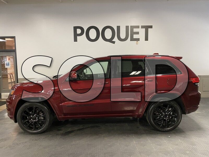 Sold 2018 Jeep Grand Cherokee Altitude