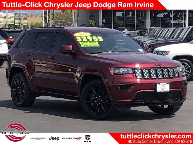 2018 Jeep Grand Cherokee Altitude Irvine CA