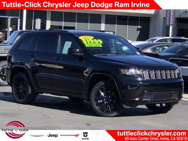 2018 Jeep Grand Cherokee Altitude Regular Unleaded V-6 3.6 L/220