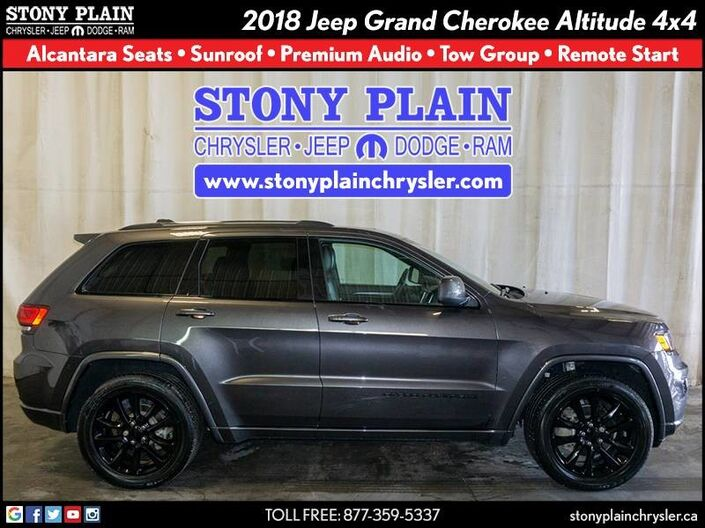 2018 Jeep Grand Cherokee Altitude Stony Plain AB