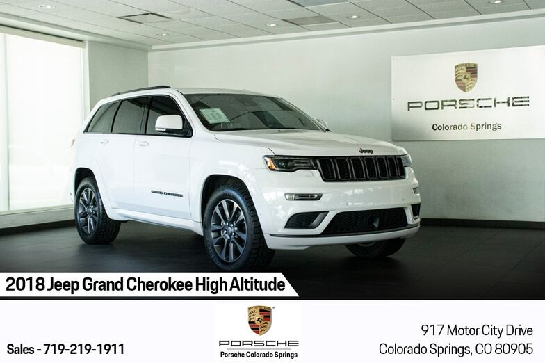 2018 Jeep Grand Cherokee High Altitude Colorado Springs CO