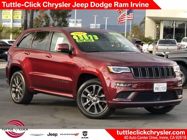 2018 Jeep Grand Cherokee High Altitude Irvine CA
