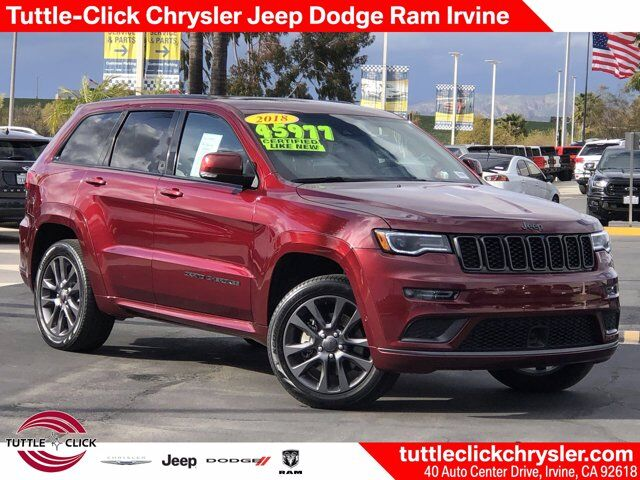 2018 Jeep Grand Cherokee High Altitude Intercooled Turbo Diesel V-6 3.0 L/182