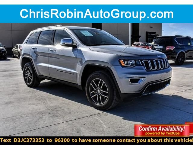2018 Jeep Grand Cherokee LIMITED 4X4 Odessa TX