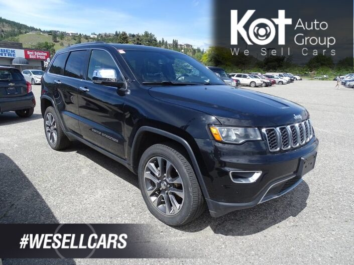 2018 Jeep Grand Cherokee LIMITED! NAV! LEATHER! PANORAMIC SUNROOF! SWEET UNIT! Kelowna BC