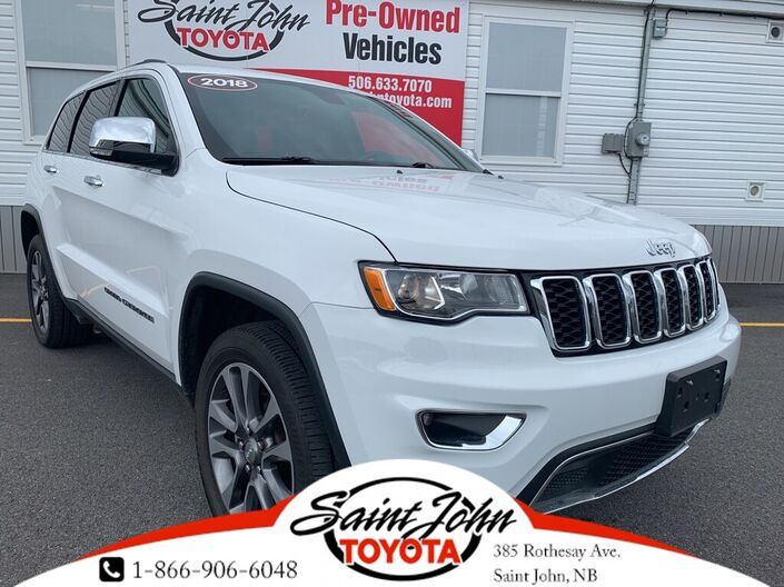 2018 Jeep Grand Cherokee Limited -- BLOW OUT PRICE!! Saint John NB
