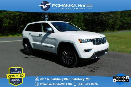 2018_Jeep_Grand Cherokee_Limited ** 4WD ** Pohanka Certified 10 Year / 100,000  **_ Salisbury MD