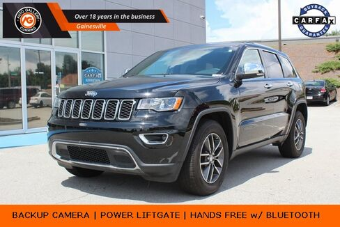 2018_Jeep_Grand Cherokee_Limited_ Gainesville GA