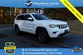 2018 Jeep Grand Cherokee Limited ** Pohanka Certified 10 Year / 100,000  **