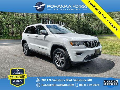 2018_Jeep_Grand Cherokee_Limited ** Pohanka Certified 10 Year / 100,000 **_ Salisbury MD