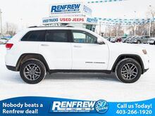 2018_Jeep_Grand Cherokee_Limited 4x4, Panoramic Sunroof, Nav, Remote Start, Bluetooth, Heated/Ventilated Nappa Leather, SiriusXM_ Calgary AB
