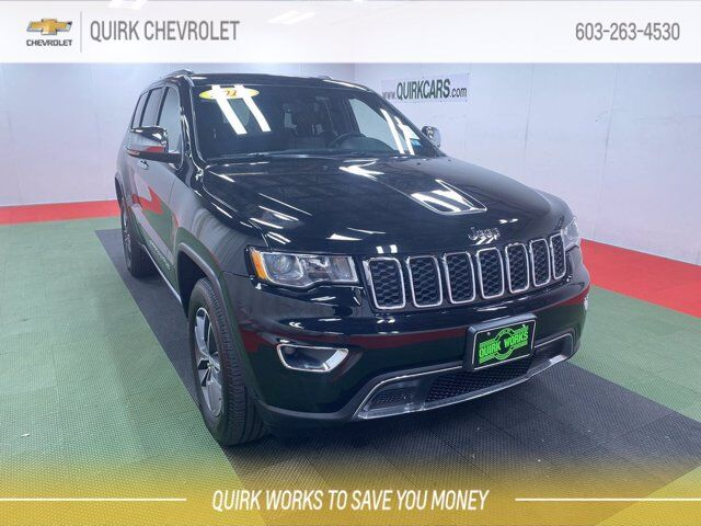 2018 Jeep Grand Cherokee Limited 4x4 Manchester NH