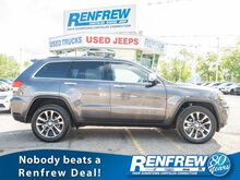 2018_Jeep_Grand Cherokee_Limited 4x4, Sunroof, Nav, Remote Start, Heated Leather, Bluetooth, SiriusXM, Backup Camera_ Calgary AB