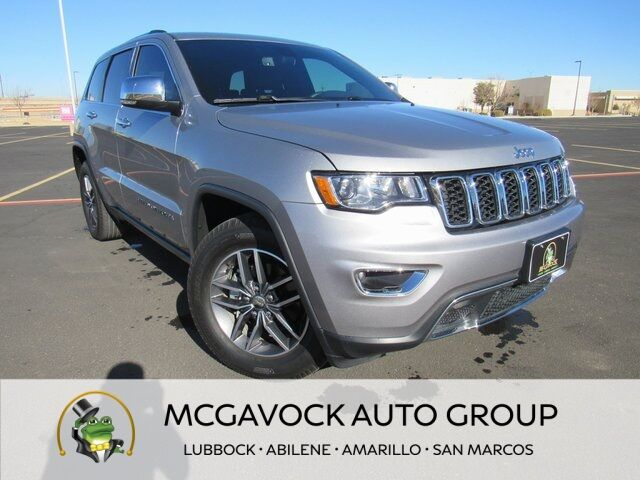 2018 Jeep Grand Cherokee Limited Lubbock TX
