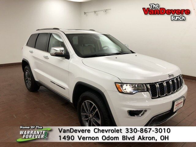 2018 Jeep Grand Cherokee Limited Akron OH