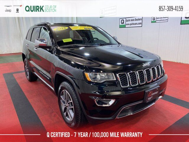 2018 Jeep Grand Cherokee Limited 4x4 Boston MA