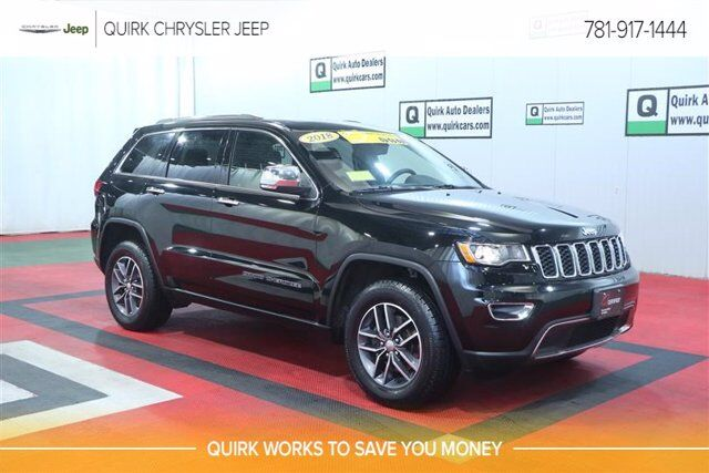 2018 Jeep Grand Cherokee Limited Braintree MA