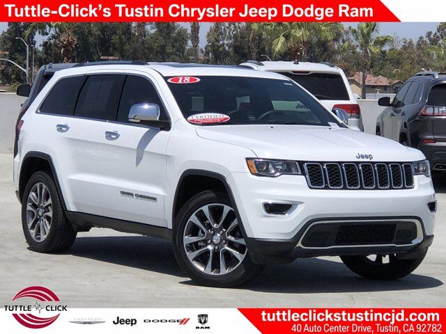 2018 Jeep Grand Cherokee Limited Tustin CA