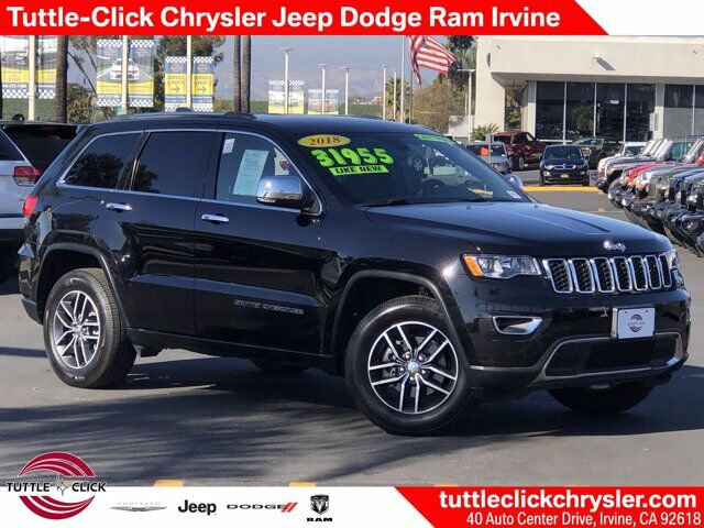 2018 Jeep Grand Cherokee Limited Irvine CA