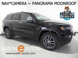 2018_Jeep_Grand Cherokee Limited_*LUXURY GROUP II, NAVIGATION, BACKUP-CAM, CLIMATE SEATS, PANORAMA MOONROOF, BLUETOOTH, APPLE CARPLAY_ Round Rock TX